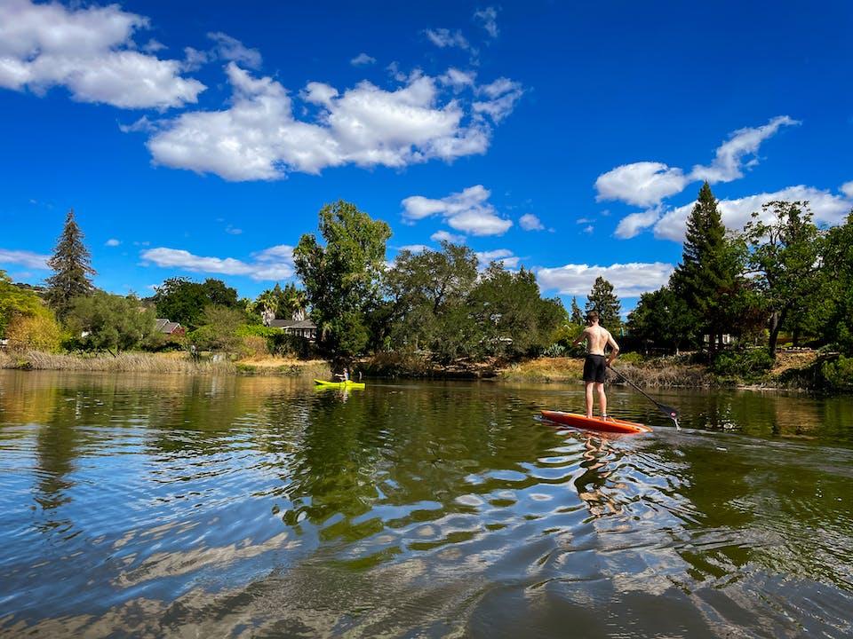 paddle the Napa River