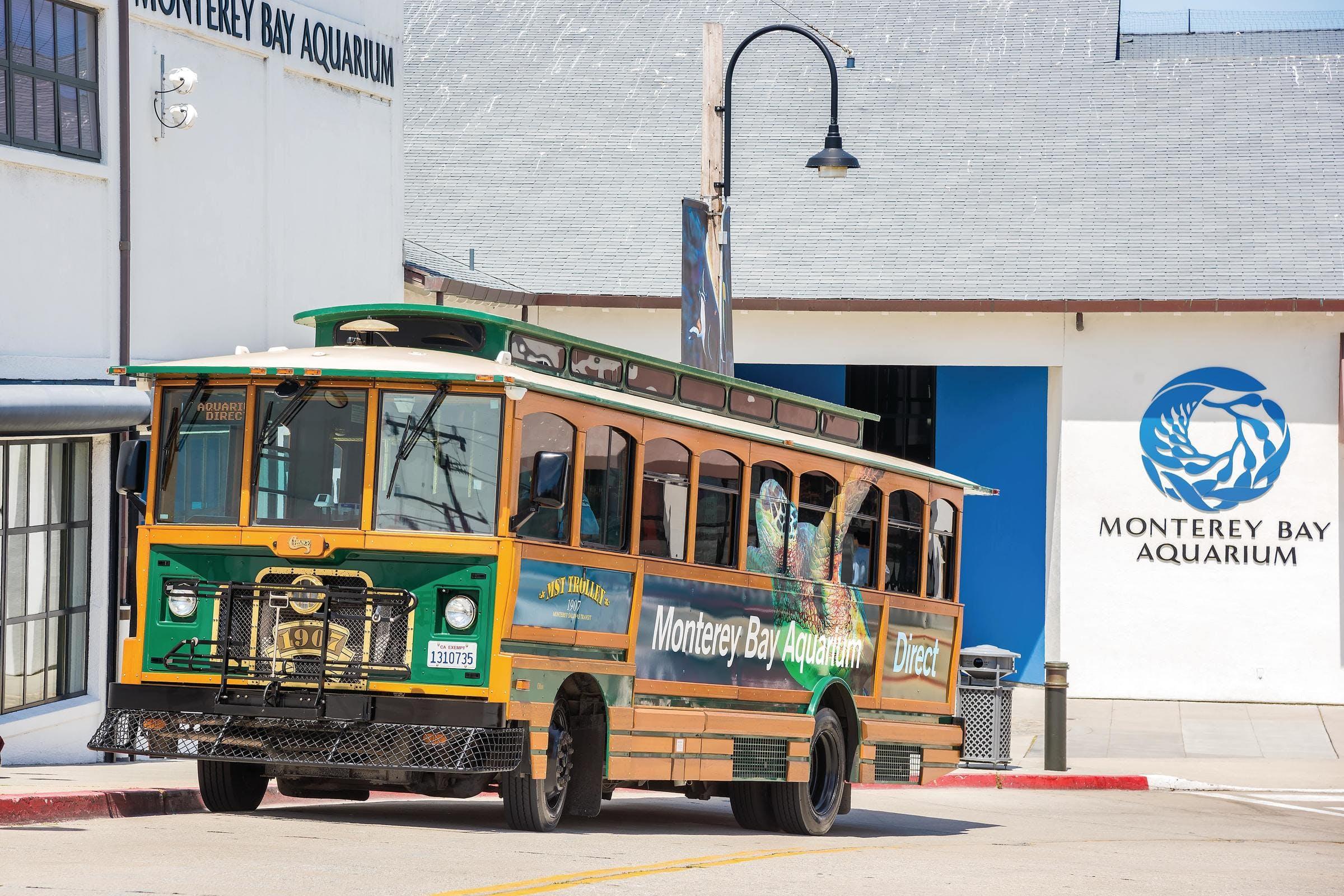 MST Trolley Monterey