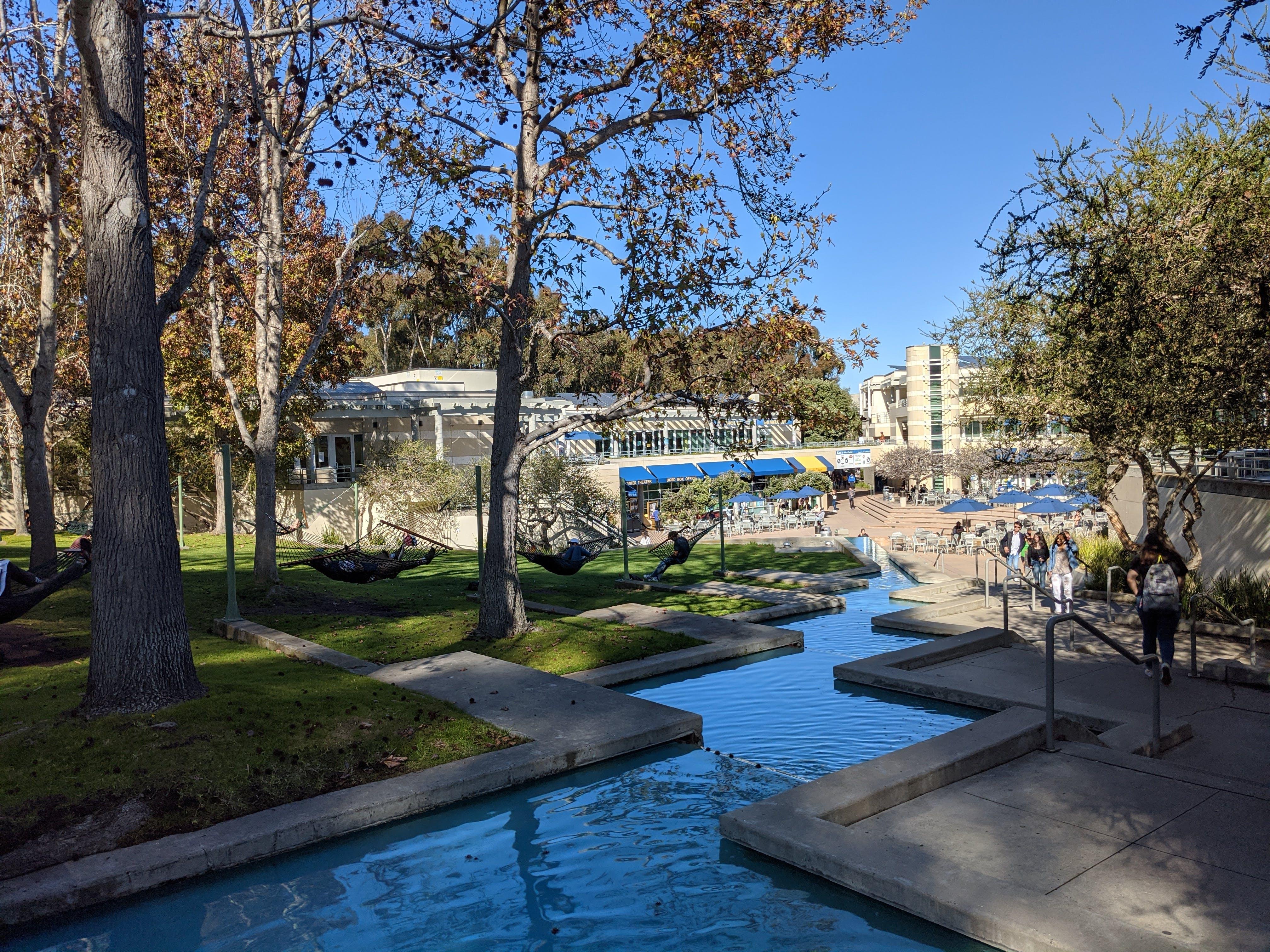 Waterway at University of California, San Diego