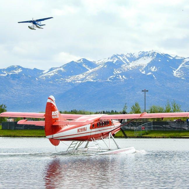 Float plane Anchorage