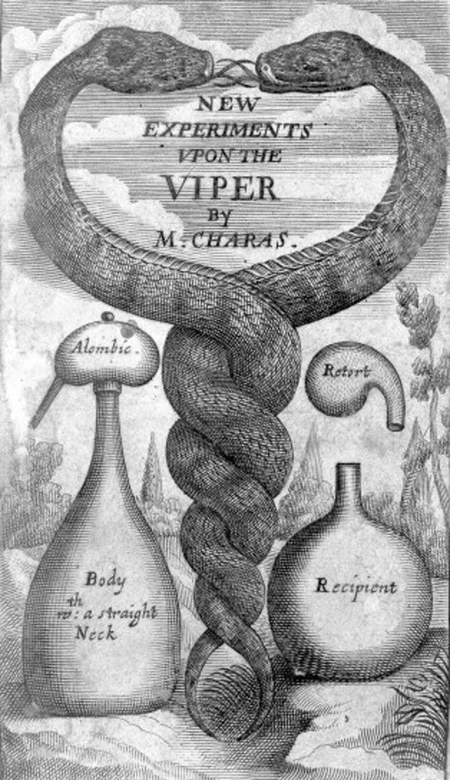 New Experiments Upon the Viper by M. Charas