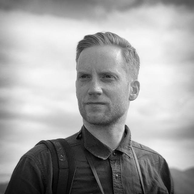 Photograph of Kieran Dodds