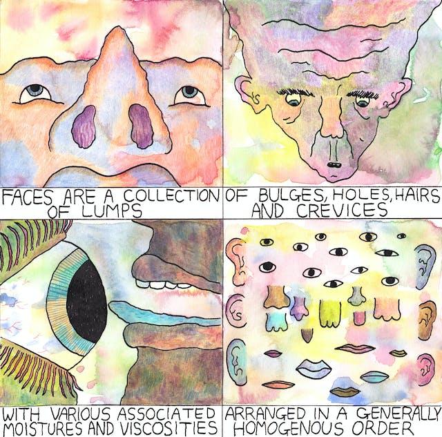 Faces comic by Rob Bidder