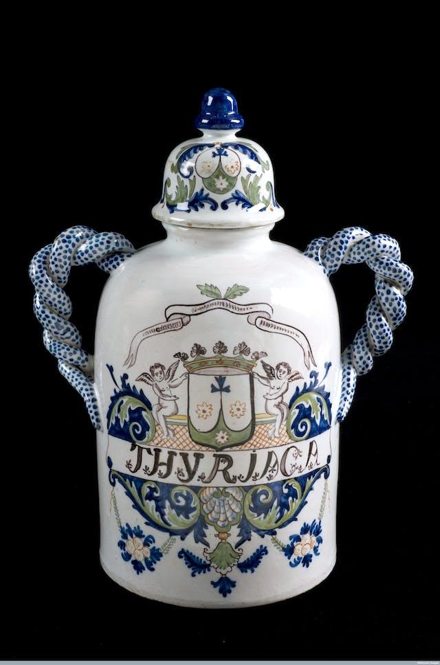 French theriac jar