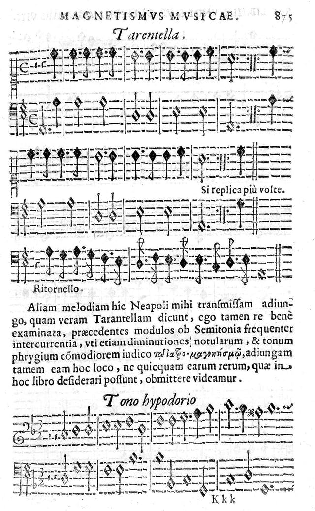 Image of 16th Century sheet music