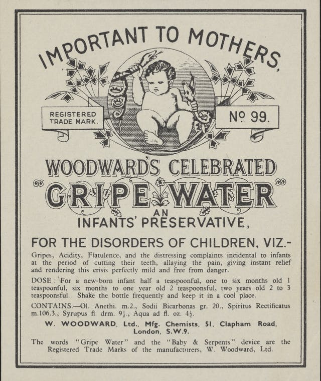Advert for Woodward