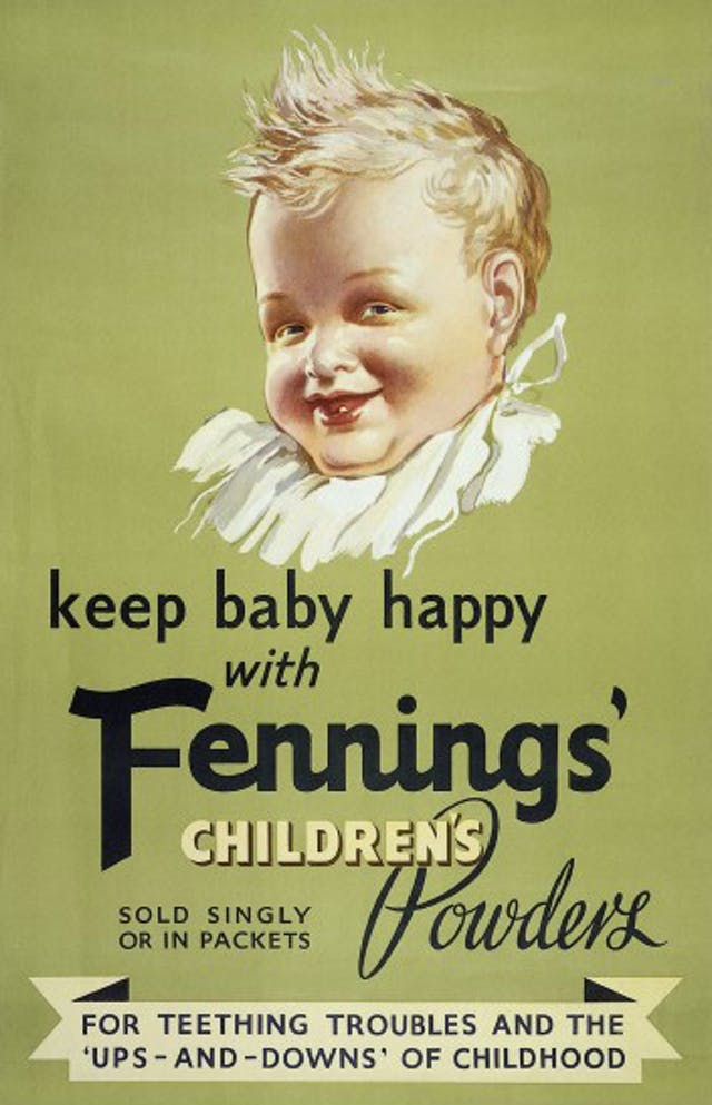 Advert for Fennings