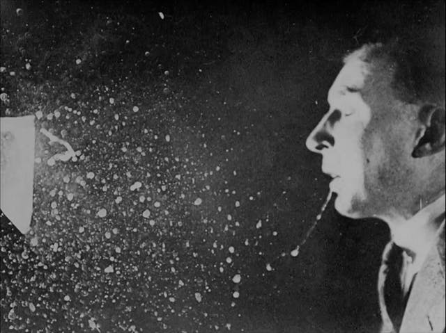Still image from the 1941 public information film,