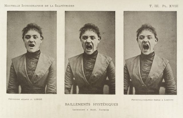 Series of three photos showing a so-called