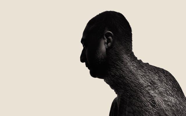 Photographic portrait of a man
