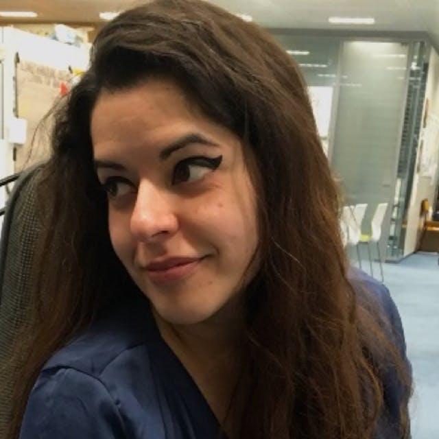 Photograph of Daniela Vasco