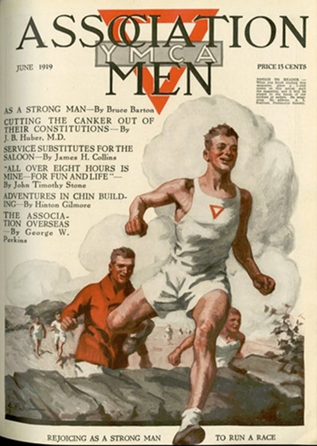 YMCA magazine cover June 1919