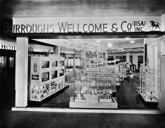 Image of Burroughs Wellcome & Co. exhibition