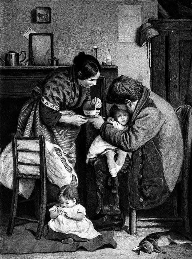 The Sick Child by Joseph Clark