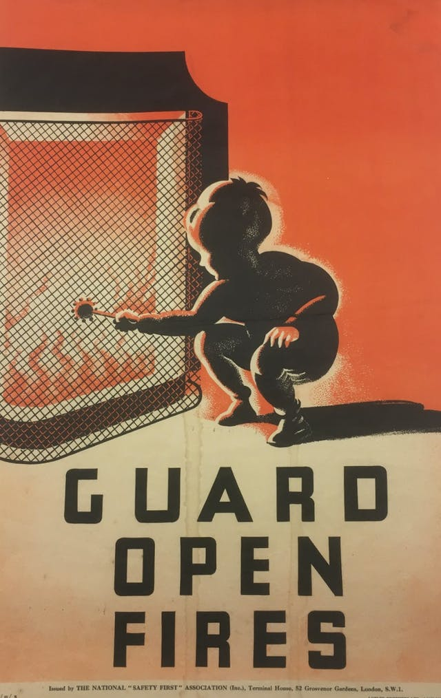 Guard Open Fires poster