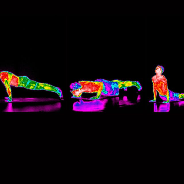 Thermographic yoga sequence