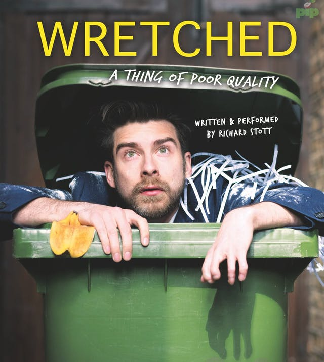Poster for 'Wretched' by Richard Stott.