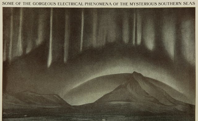 The awe of electrical phenomena is nowhere more conspicuous than in written and visual depictions of the Northern and Southern Lights.