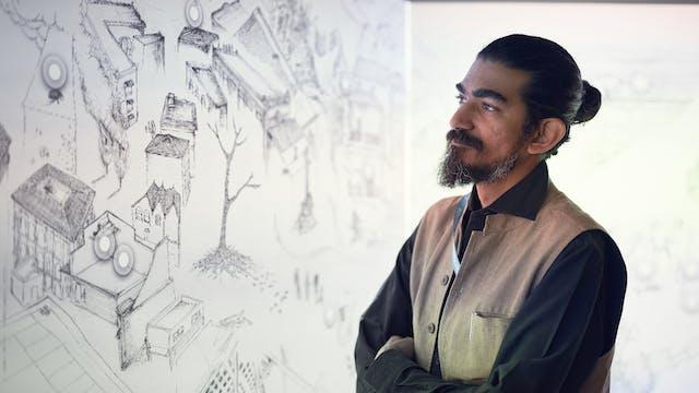 Ranjit Kandalgaonkar, commissioned artist for