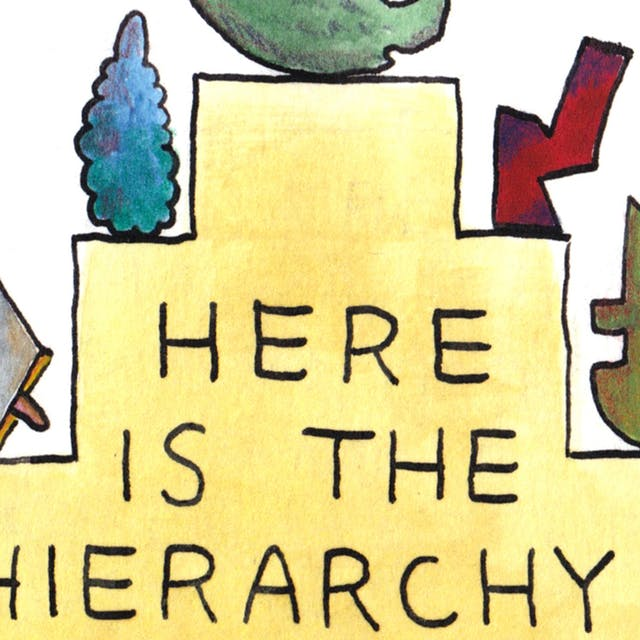 Hierarchy webcomic by Rob Bidder (detail)