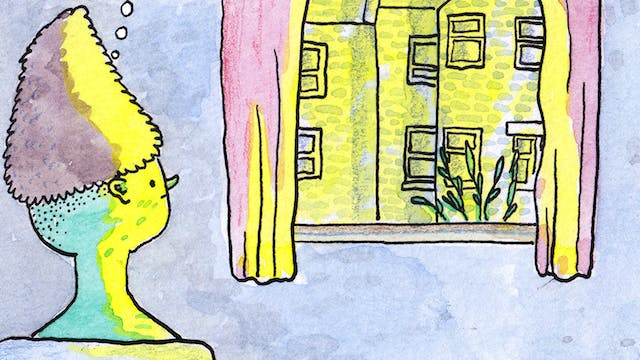 Isolation comic by Rob Bidder (detail)