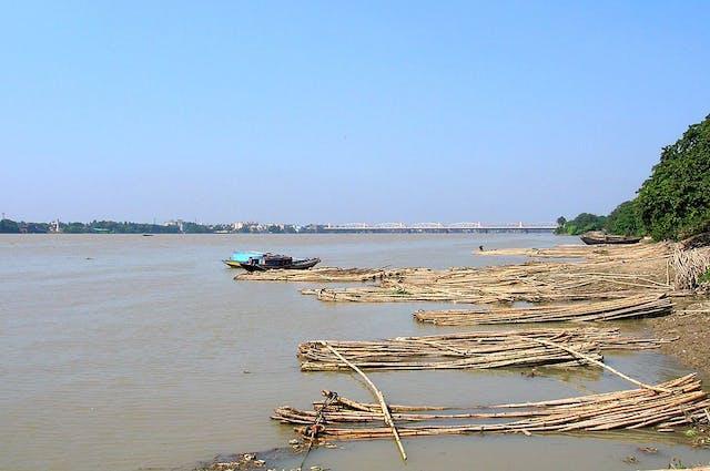 River Hoogly at Baranagar