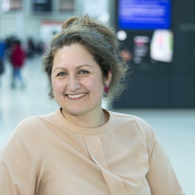 Photograph of Elina Grigoriou
