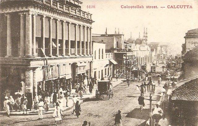 Colootollah street - Calcutta