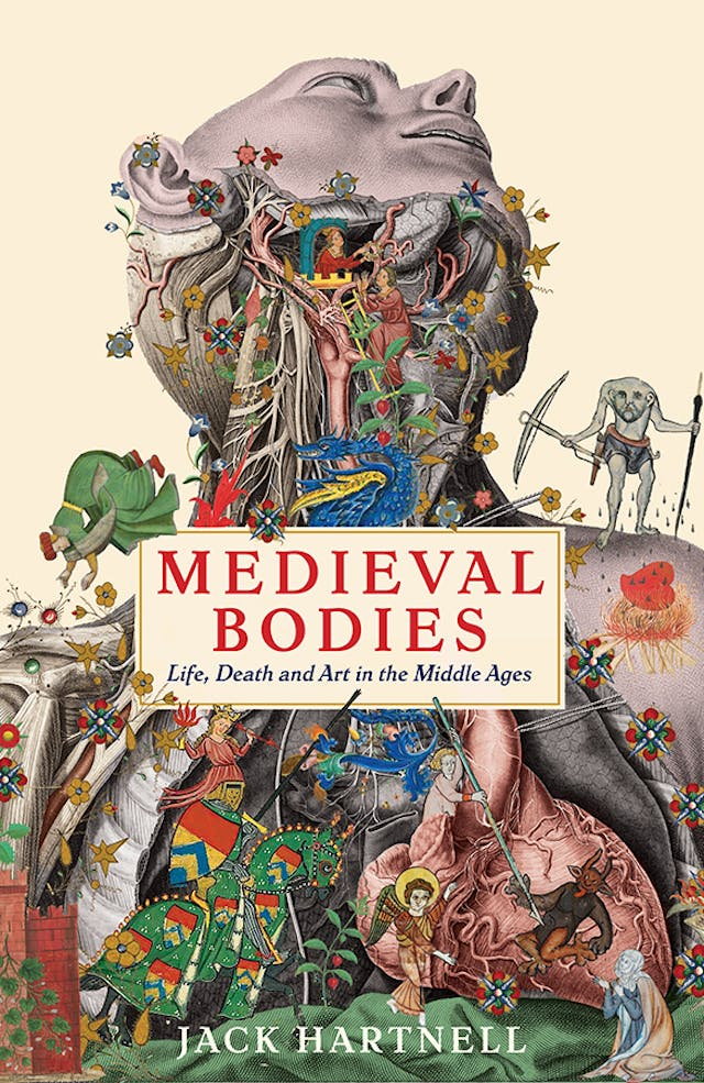 Image of the front cover of the book 'Medieval Bodies' by Jack Hartnell.