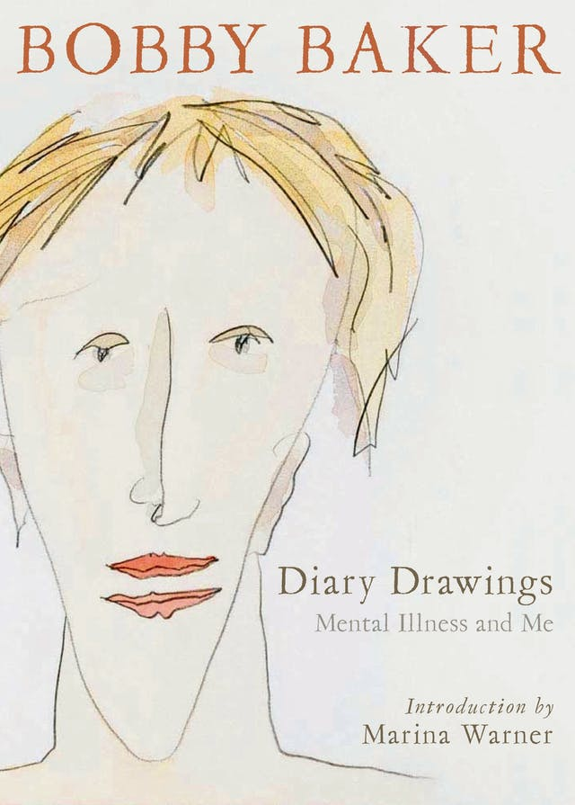Book cover of Diary Drawings by Bobby Baker