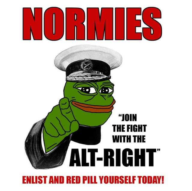 Pepe the Frog poses as an enlisting sergeant for the Alt-Right