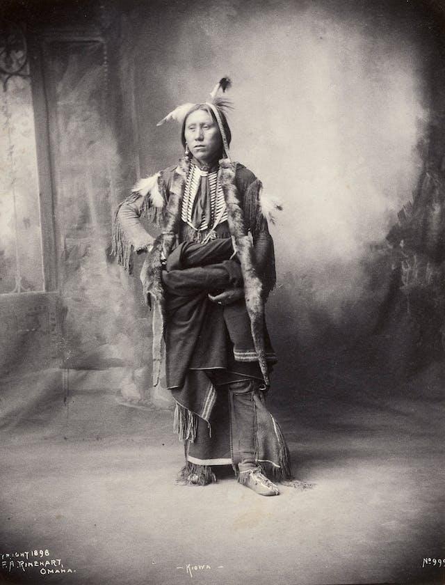 An American of the Kiowa tribe