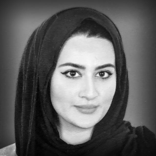Photograph of Maryam Wahid