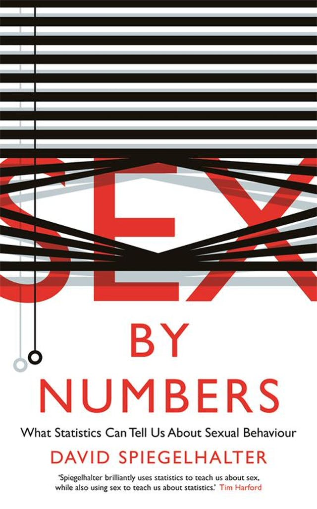 Book cover of Sex by Numbers by David Spiegelhalter