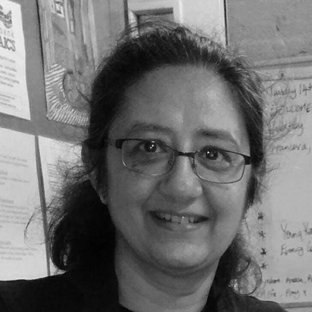 Photograph of Lalita Kaplish