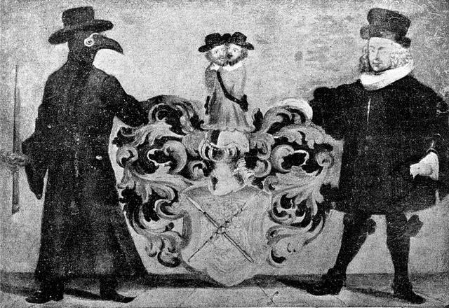 Plague: Arms of Dr. Zwinger of Bale