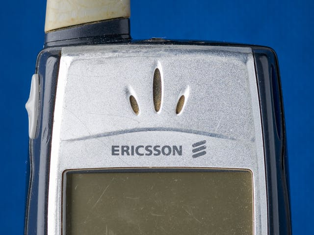 Photograph of a close up of a mobile phone