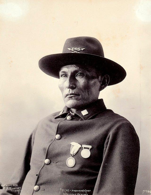 Naiche, hereditary chief of the Chiricahua