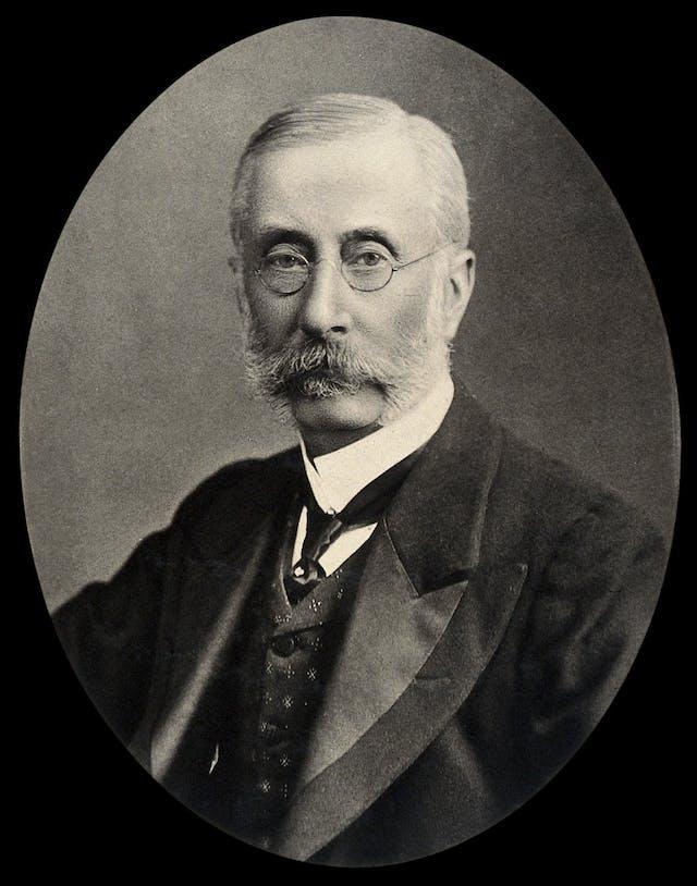 Sir David Ferrier. Photogravure after Maull & Fox