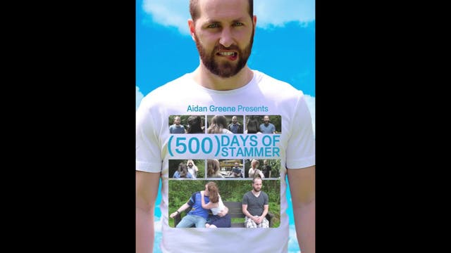 '(500) Days of Stammer' by Aidan Greene