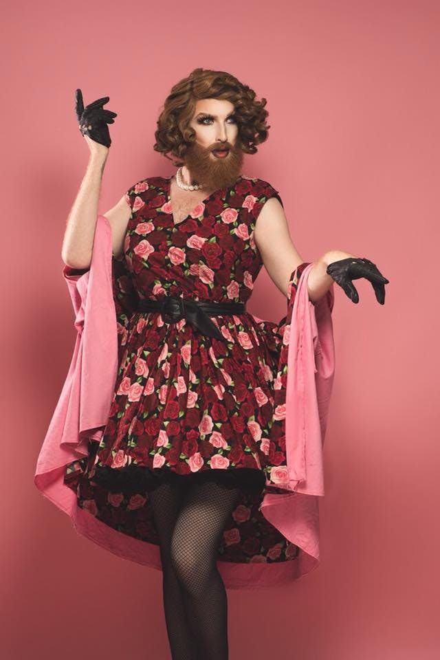 Cabaret and performance drag artist Gingzilla