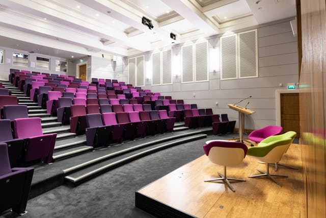 Photograph of the Henry Wellcome Auditorium at Wellcome Collection.