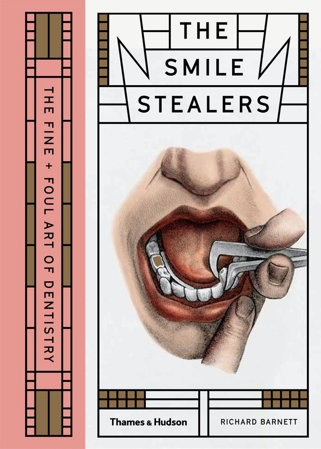 Book cover of The Smile Stealers by Richard Barnett