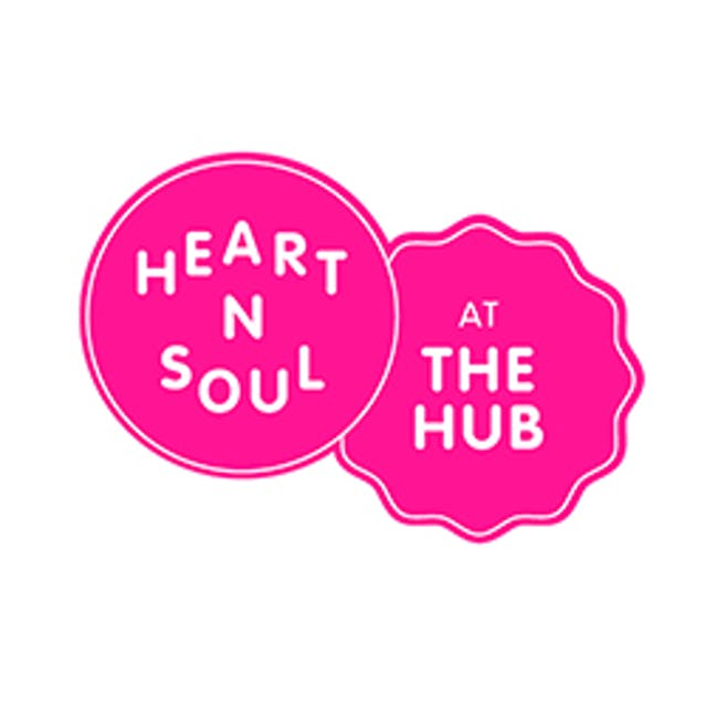 Logo for Heart n Soul at The Hub