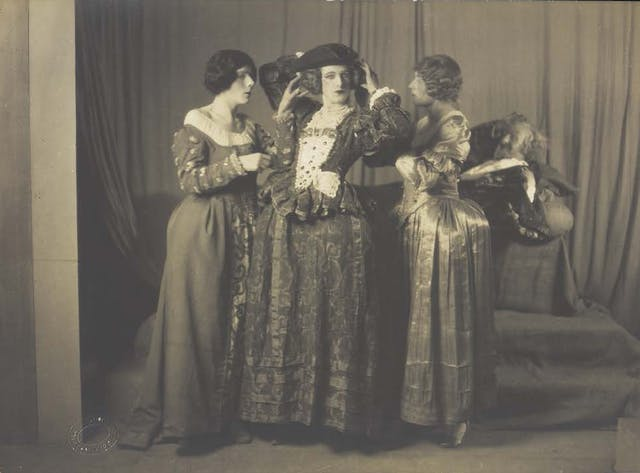 Cecil Beaton in theatrical drag, photograph, c.1925