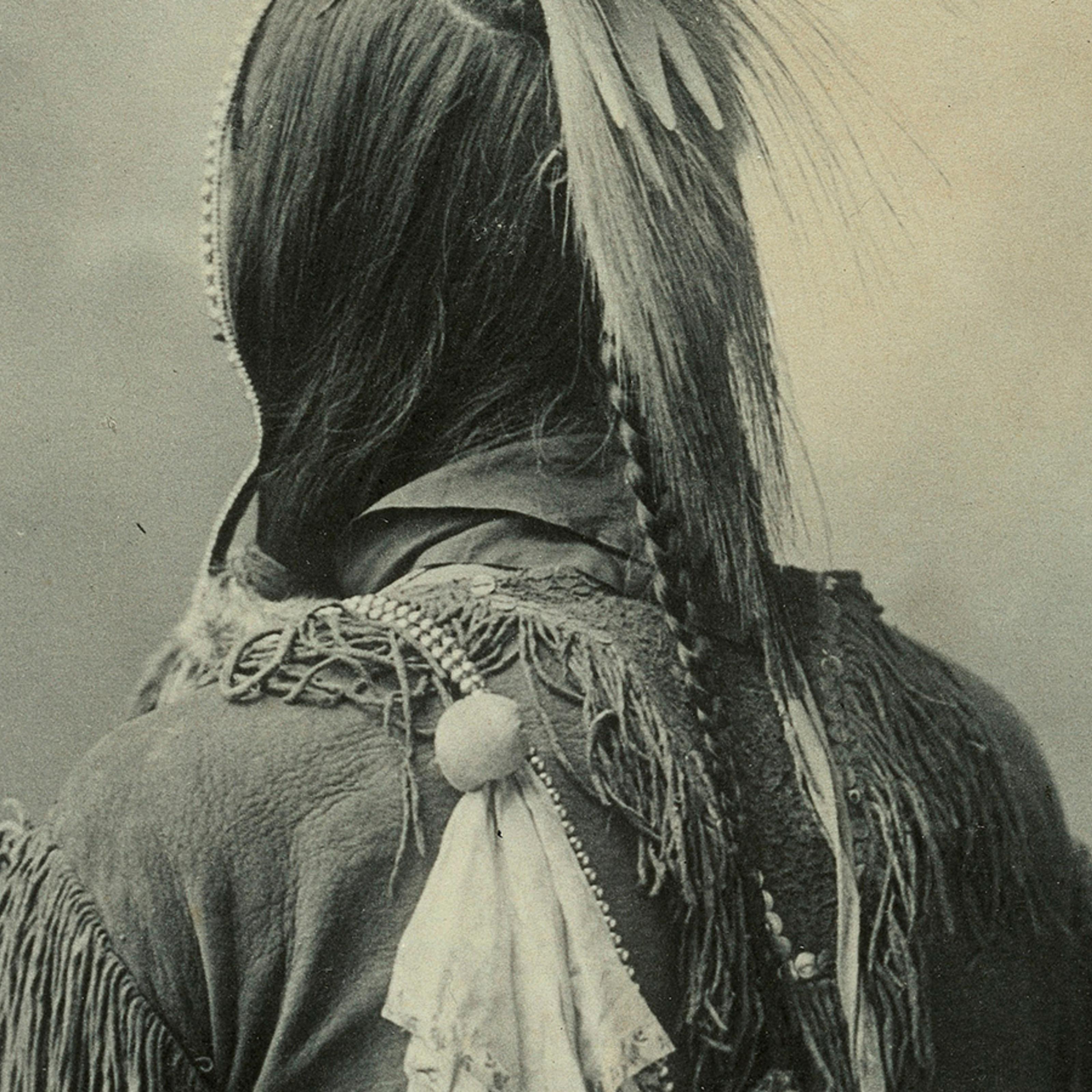 "Horse Hair /""Scalplock/"""