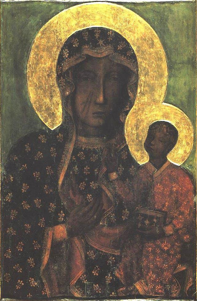 Our Lady of Częstochowa, Jasna Góra Monastery, Częstochowa, Poland