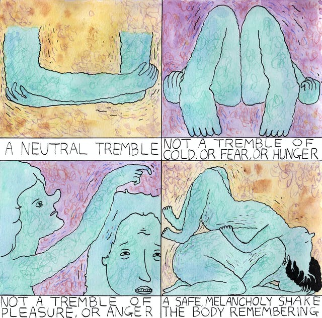 Tremble comic by Rob Bidder