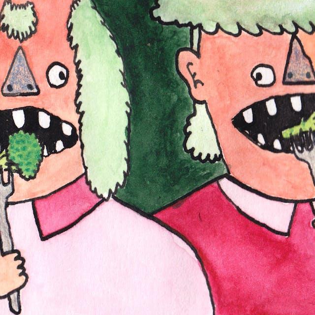 Eat: A webcomic by Rob Bidder (detail)