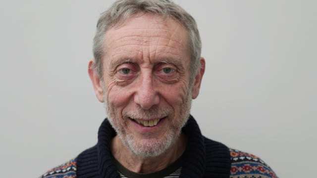 Portrait of Michael Rosen
